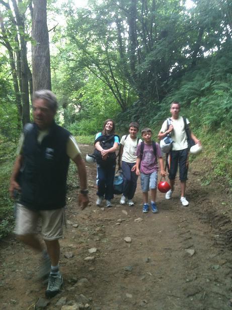 Sortie escalade jeunes le mercredi 27 juin 2012