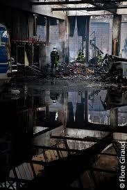 Photos de la Vaca Loca après l'incendie et le nouvel atelier à Lamartine