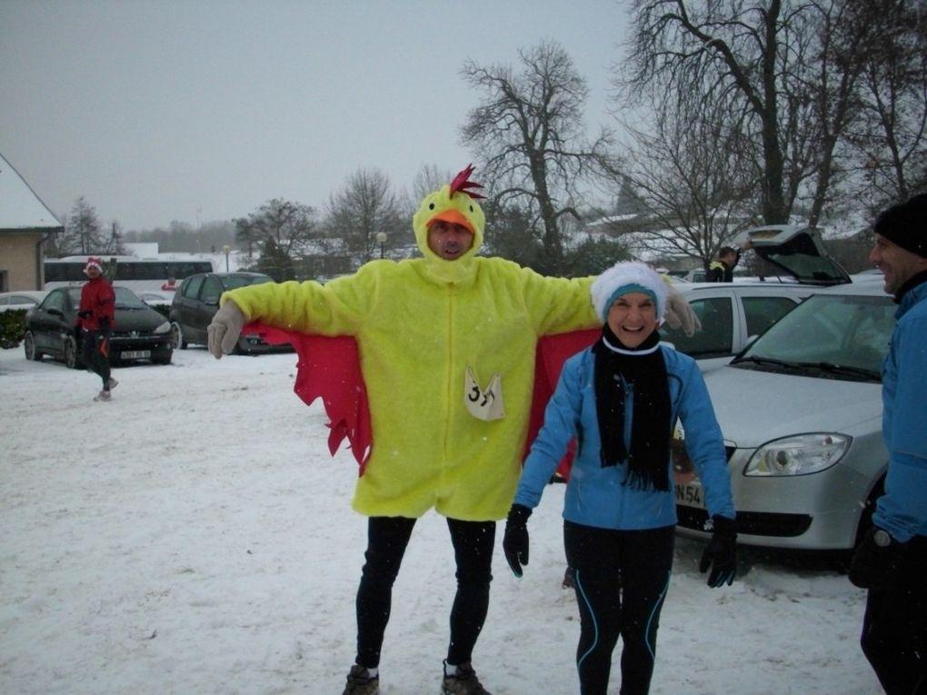 1er course sous la neige en 2009