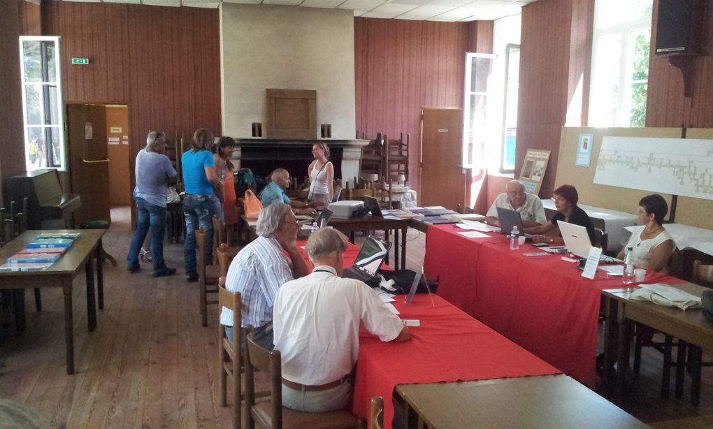 l'Association de Généalogie des Alpes Maritimes a tenu une réunion remarquée animée par Philippe CARENCO
