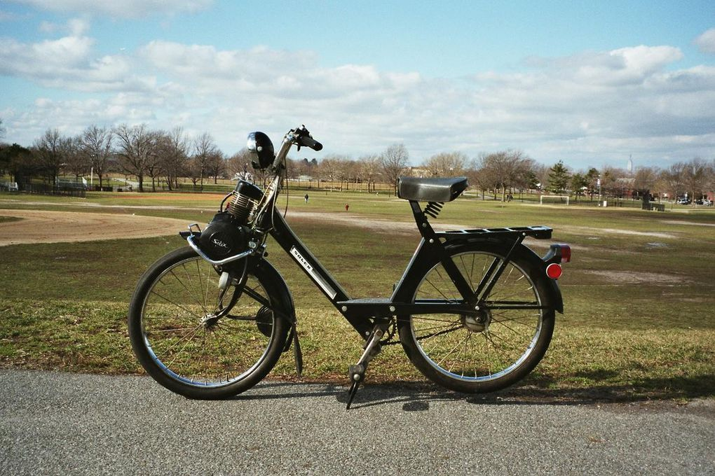 This one is in mint original condition. I rebuilt the motor and installed a new fuel tank.