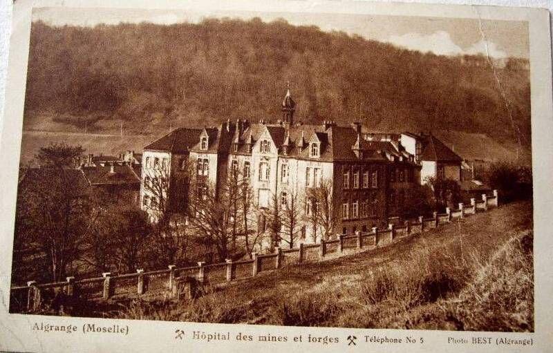 photos ancienne d'Algrange