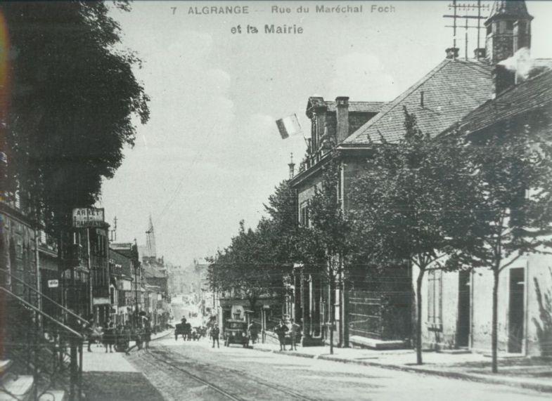 Photo, carte postale et document ancien sur Algrange
