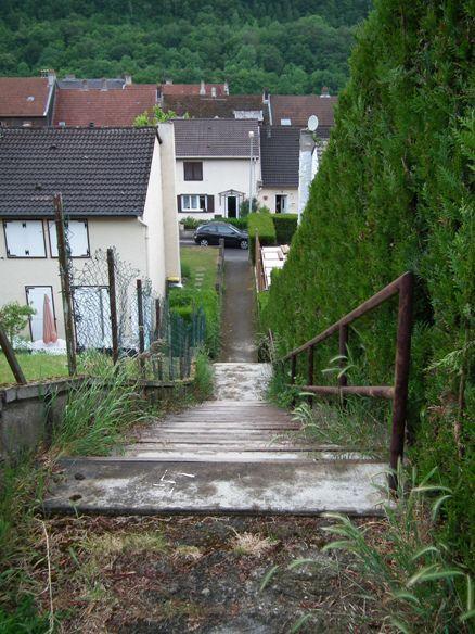 algrange et ses chemins de traverse ou raccourcis