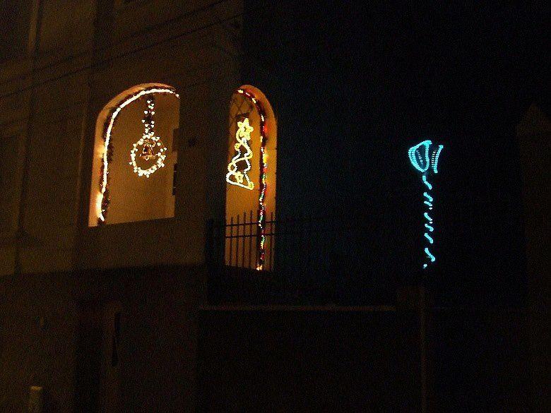 illumination de maisons à ALGRANGE en 2008
