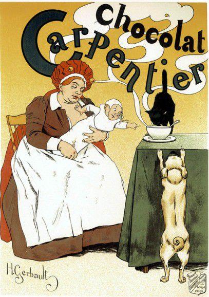 vieille affiche publicité