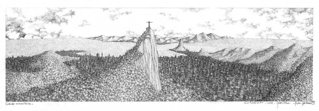 Dessins d'Alfredo Ghierra, artiste uruguayen
