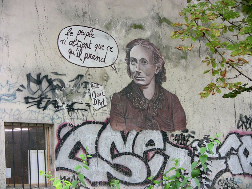 Tous les arts graphiques de la rue : graffitis, installations, performances...