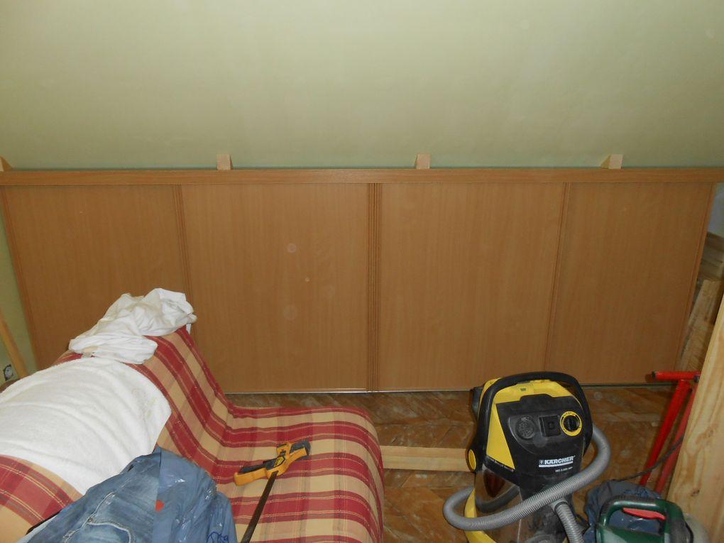 Transformation d'un espace en chambre...