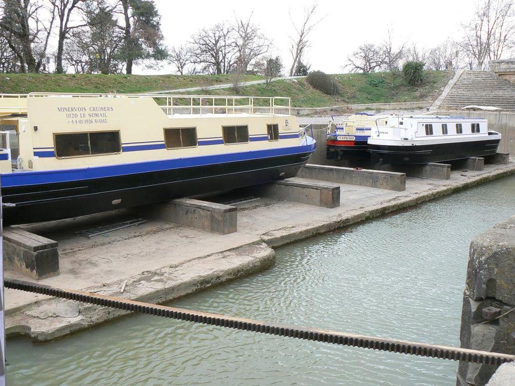 canal du midi, navigation, Photo, Péniche, Ecluse, Bateau-logement
