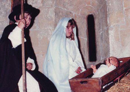 Creche vivante et pastorale dans les années 1980 - 1990
