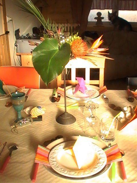 Album - Table-Cocotte-en-papier
