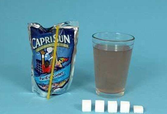 les regimes - maigrir - combient y a t'il de sucre dans les boissons et les aliments - etc