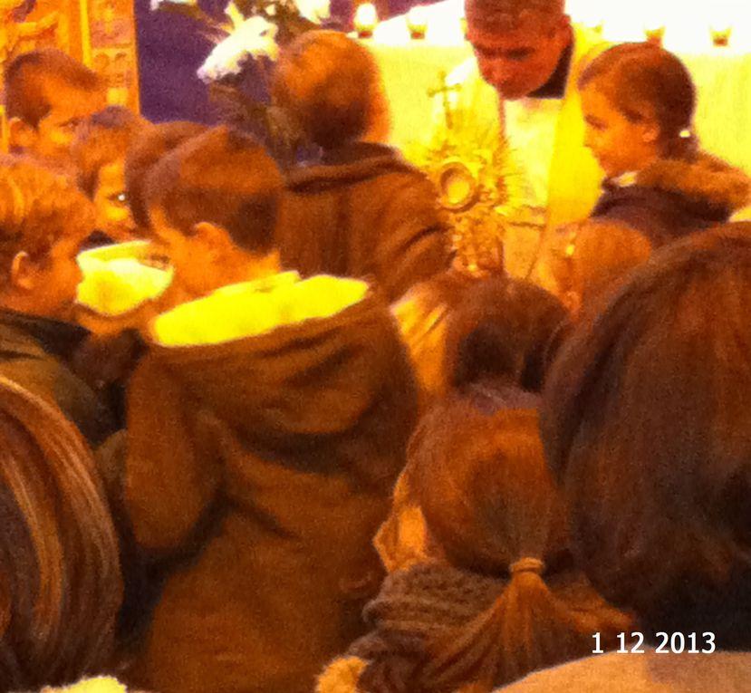 Retraite paroissiale à l'école sainte Thérèse les 30/11 & 1/12/2013