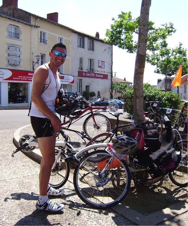 15 jours après le Rennes-Nogent-Rennes, on attaquait le fameux Bordeaux-Paris avec mon pote Seb... Cette fois-ci, on descend à Bordeaux en vélo et je rentre de Paris ensuite en vélo aussi...