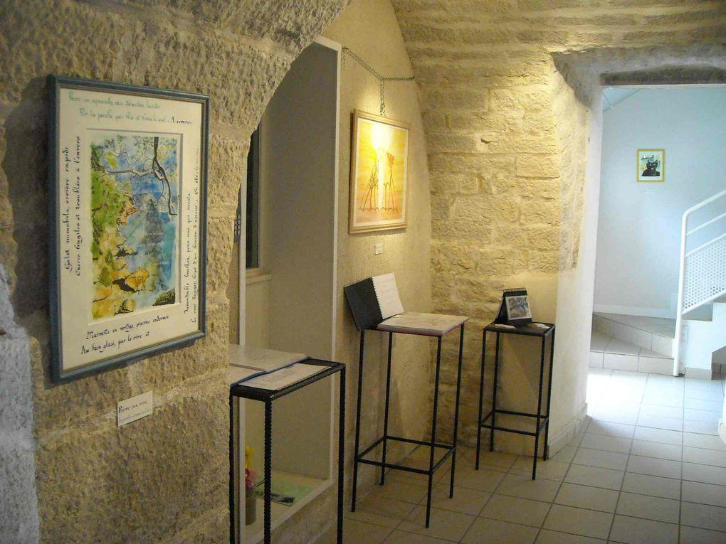 Mes peintures et les sculptures de Jean-Michel OUDOT, piscisculpteur de son état à Besançon.