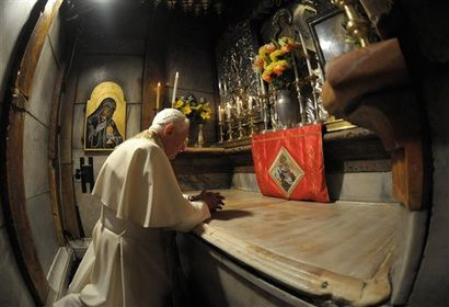 Album - Pèlerinage de Benoît XVI