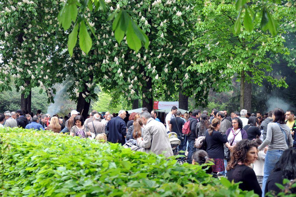 Défilé du 1er mai 2012 à Mulhouse