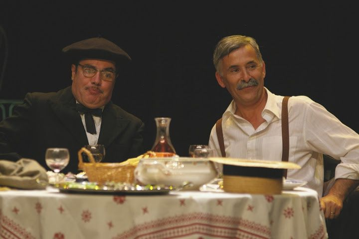"""Photos du spectacle """"A tous ceux qui..."""" de la Compagnie de l'Ourson Blanc à Bouvron le 29 septembre 2012.Crédit : Isabelle SANCHIS"""