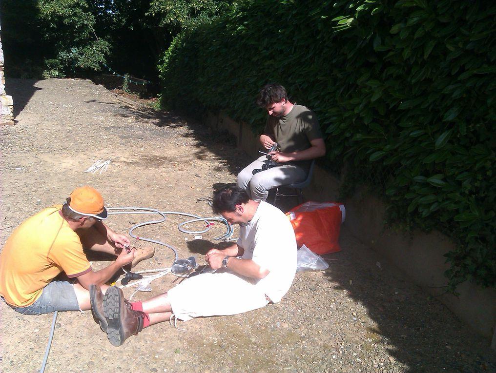 Cyrano de Bergerac - Spectacle de plein air présenté par la Compagnie de l'Ourson Blanc à Montreuil-sur-Maine du 1 au 16 juillet 2011 à 21h30 !