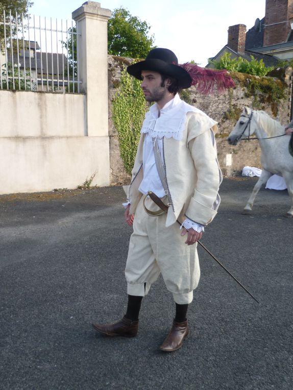 Cyrano de Bergerac, le nouveau spectacle de plein air de la Compagnie ! Du 1 au 16 juillet 2011 sur la Place de Montreuil-sur-Maine