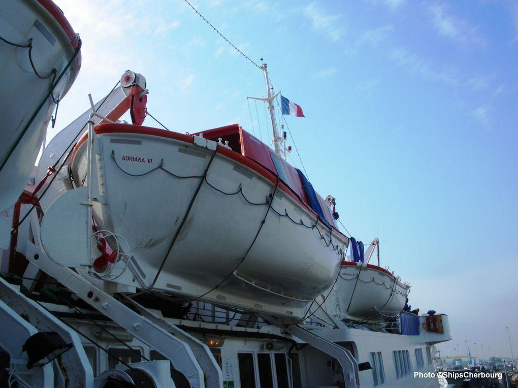 Carnet de voyages : les paquebots en Normandie le 1er juin 2009 (Caen + Le Havre)