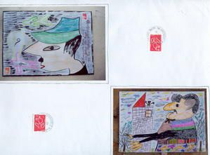 Album - archives-Art-postal
