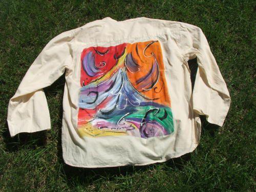 Album - peinture-sur-chemise