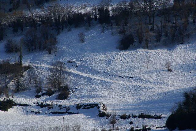 Février 2009...La neige est là,longtemps !!