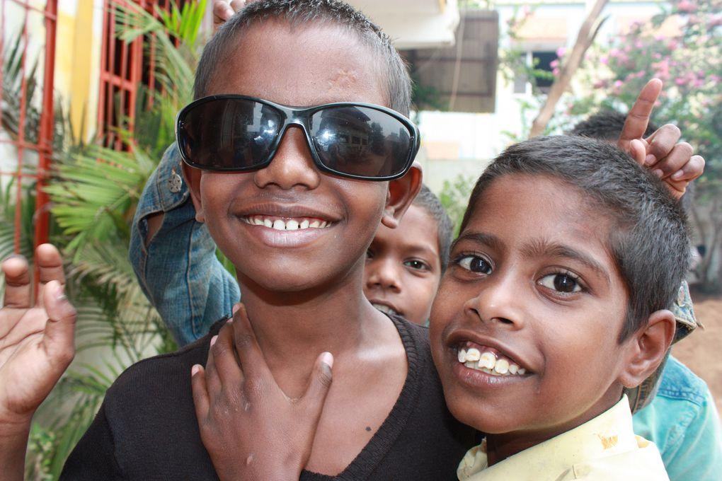 Quatre scoutes chez Vudhavi-Karangal en images