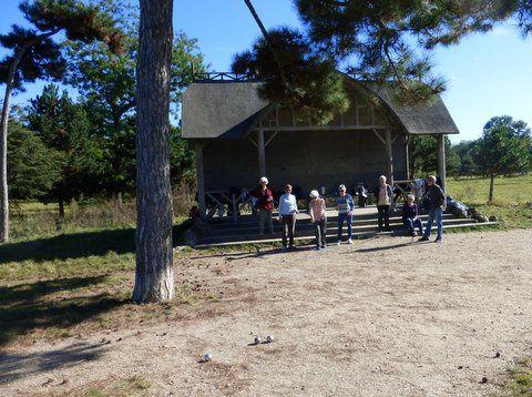 Sortie plein air au bois de Vincennes, le 14 octobre