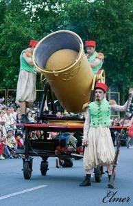 La grande parade dans Tours, en juin 2007.