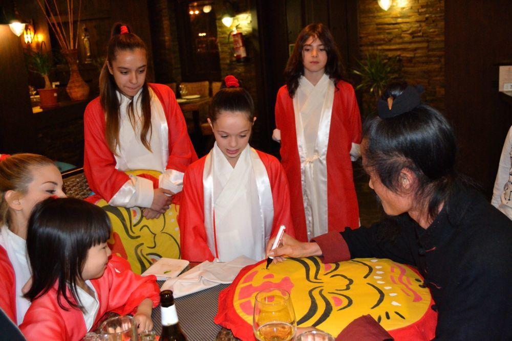 Yuan Xiu Gang, Wudang.Exhibición de Kung fu con el Grupo Elite para el Maestro Yuan Xiu Gang de Wudang - Equipo GrandMaster Senna.