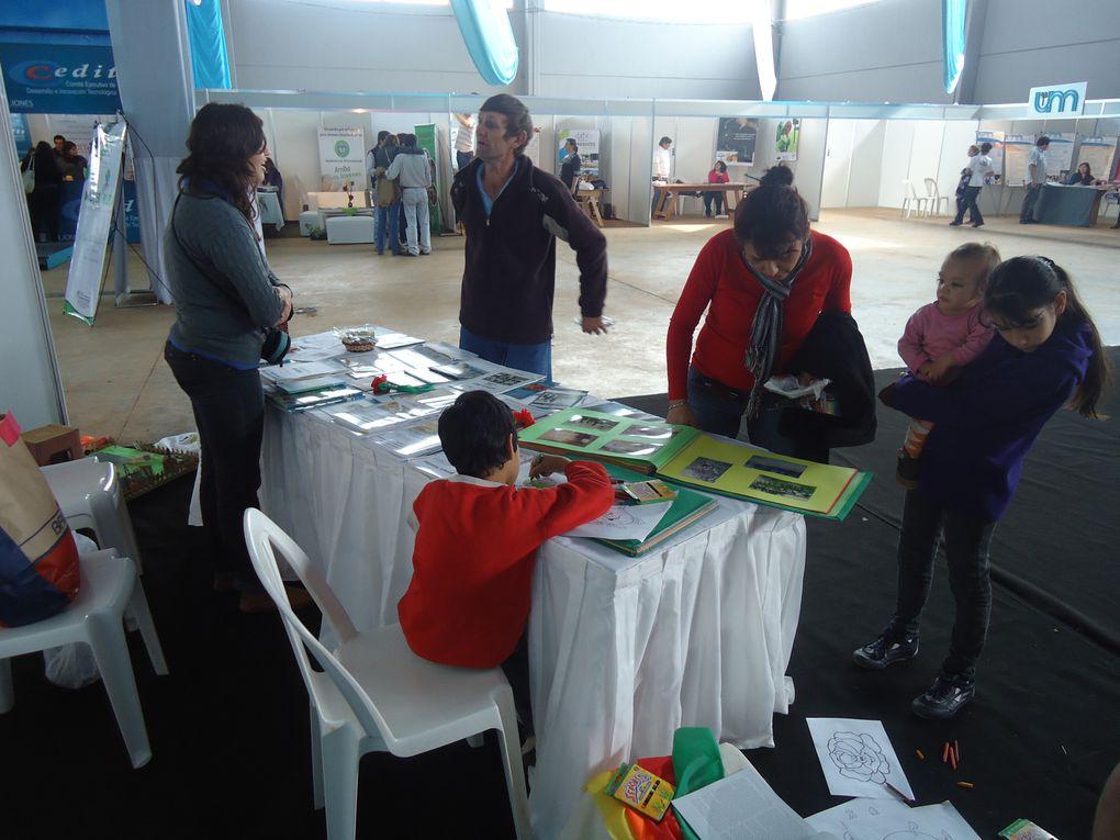 El Programa Pro-Huerta Chaco, tambien estuvo presente en este 1º Encuentro a nivel nacional donde se compartio experiencias productivas de todo tipo con la participacion de mas de 3000 feriantes.