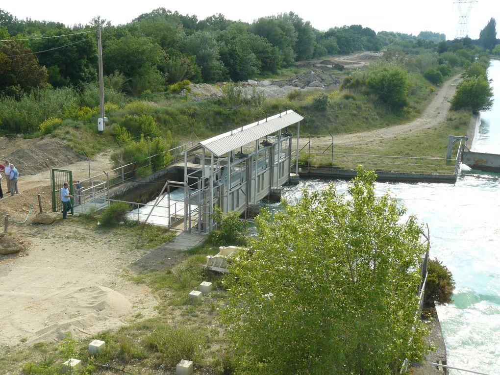 Album - Visite -La repartition des eaux en Crau et Sud Alpilles