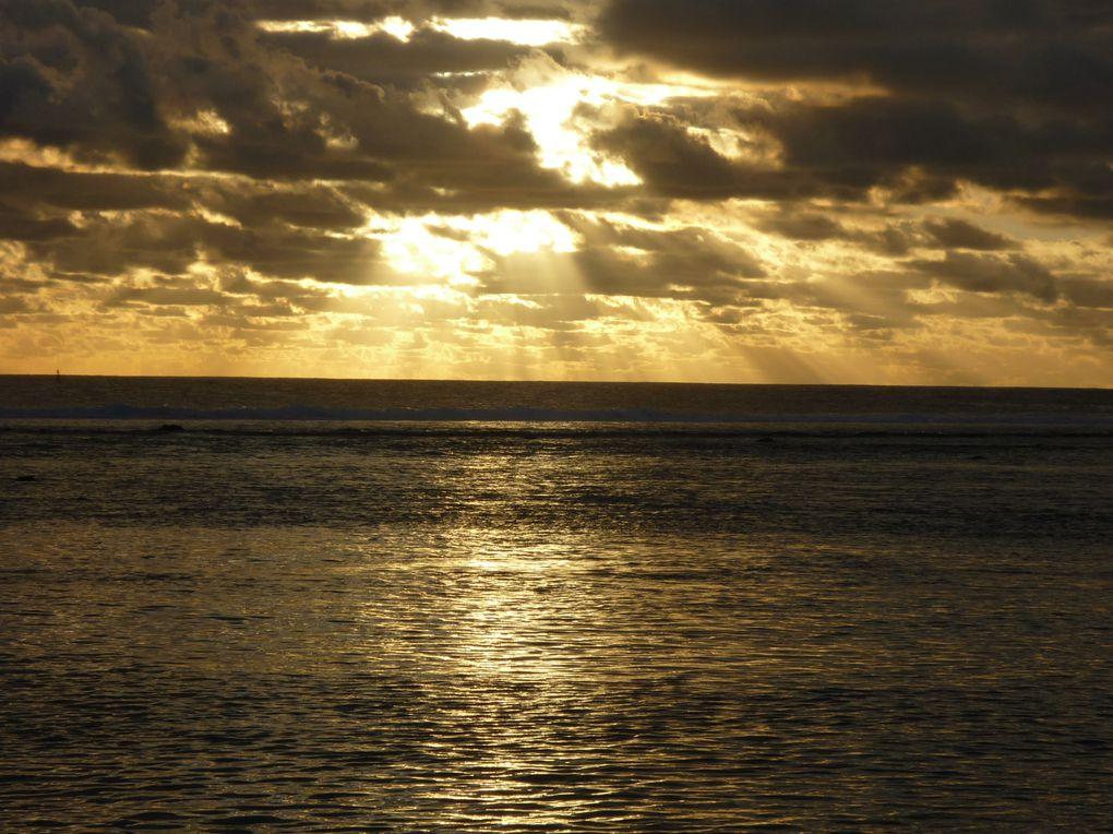 ne me lasse pas de photographier le crépuscule des dieux dans l'océan Indien
