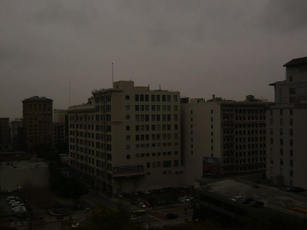 premier jour sous la pluie dans LA et visite de l'USC Ecole de cinéma