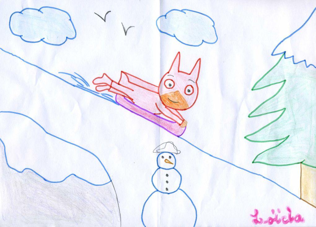 Bravo à tous les participants au concours de dessin de cet hiver et bonne chance à eux !!!