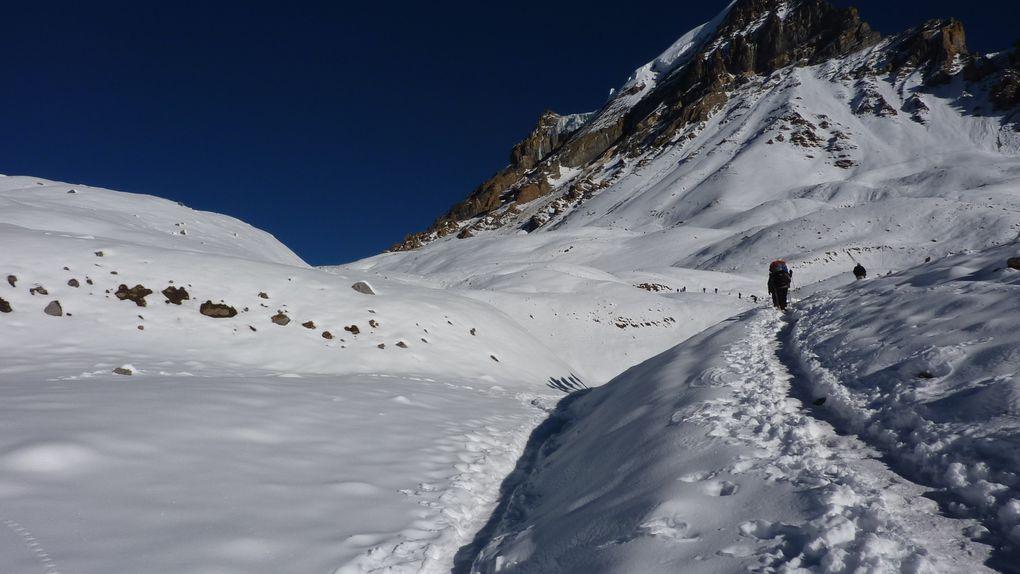 Passage du Thorong Pass 5460m