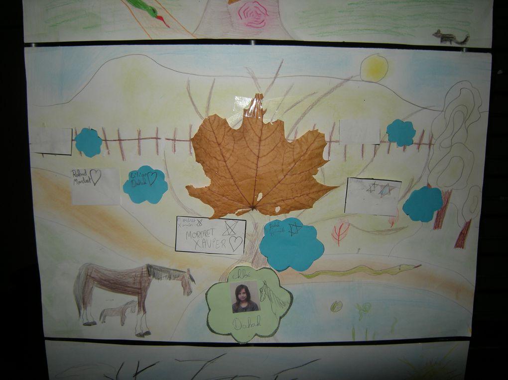 Les enfants ont participé à différentes activités récréatives, les mercredis matin, durant le 1er trimestre de l'année scolaire 2010-2011. Le dernier jour, ils présentent à leurs camarades et à leurs parents, leurs oeuvres après 10 à douz
