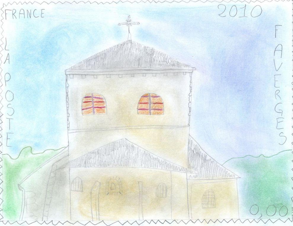 Les 36 projets des participants adultes, jeunes et scolaires, au Concours du Timbre pour Faverges qui s'est déroulé du 14 décembre au 15 avril 2010.