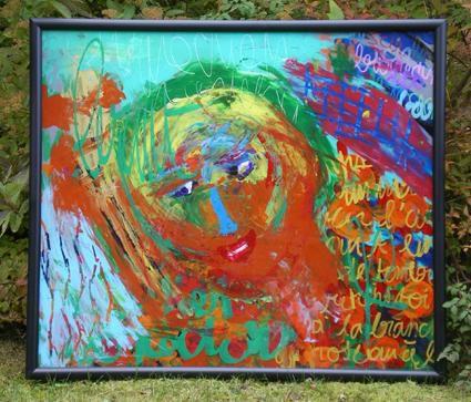 Toutes ces peintures sur plexiglas encore disponibles à la vente.