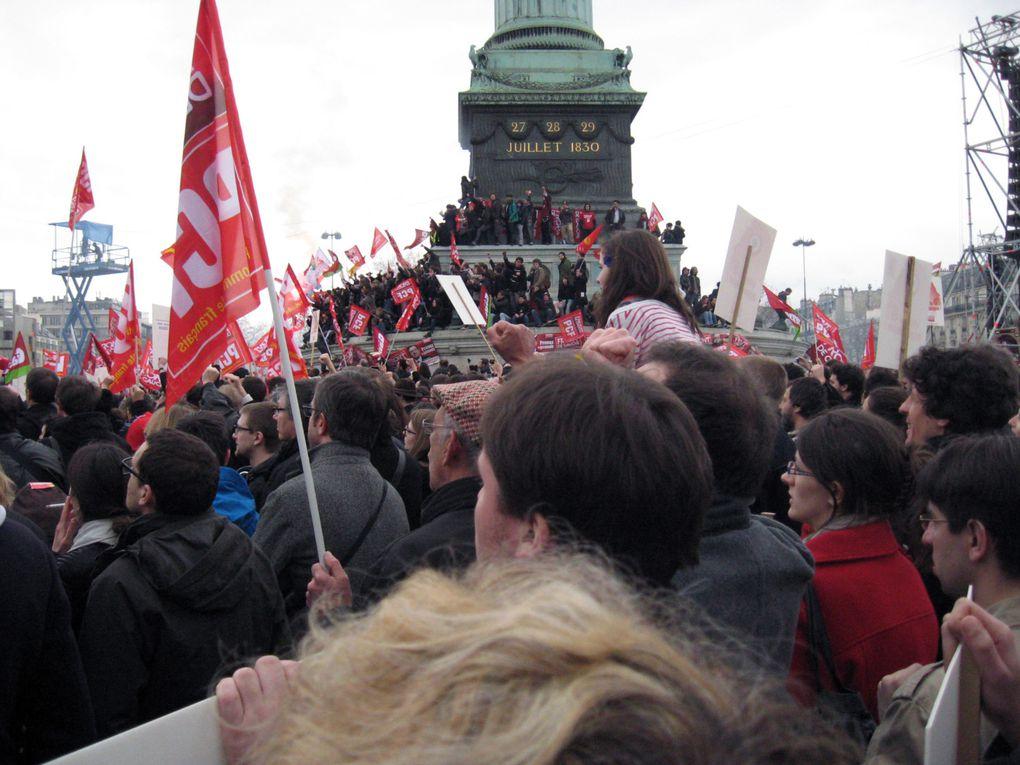 Le Front de Gauche reprend la Bastille : marche pour la 6e République