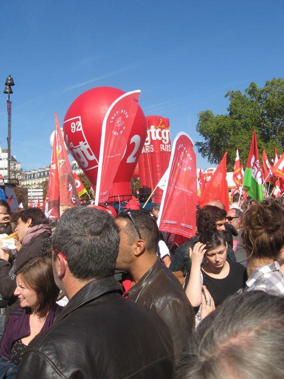 Photos - Paris manif 30/09/2012
