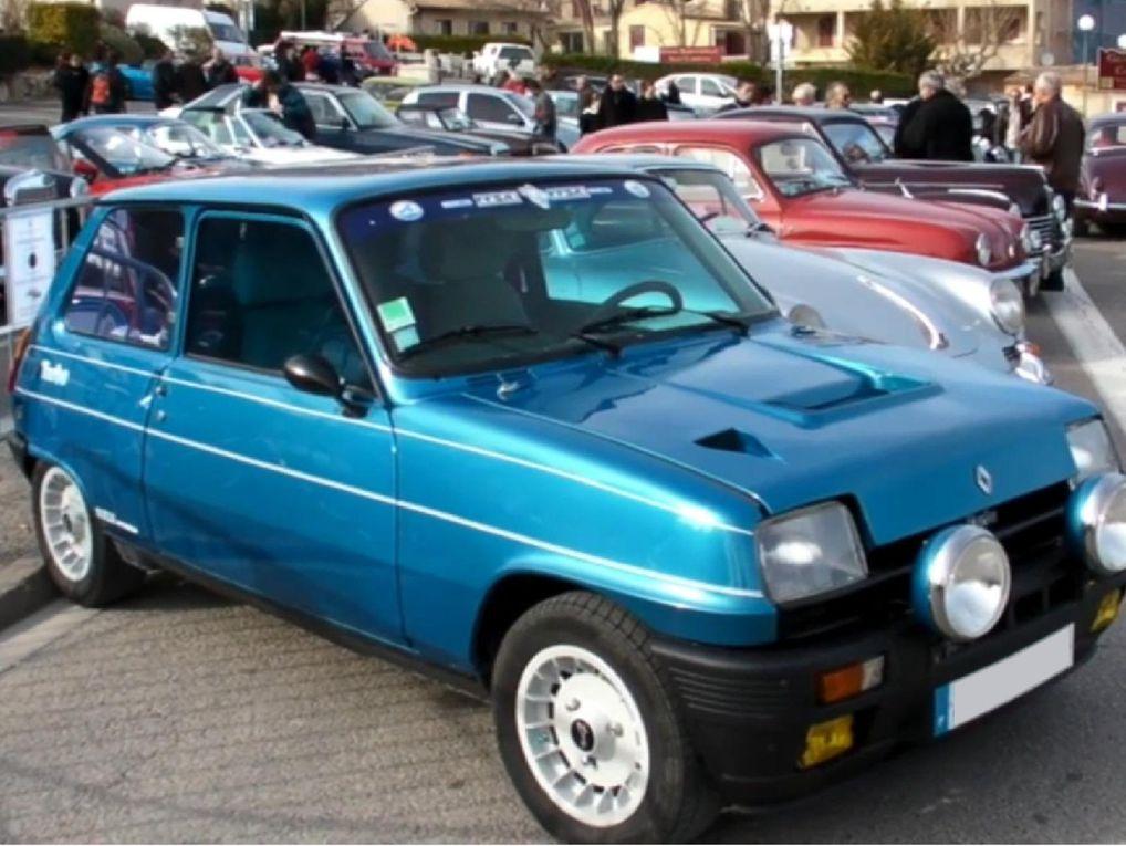 Photos voitures de sport d'occasion fabriquées en france. Vues 3/4 avant marques Alpine, Simca, Matra. Modèles A310 1600, A310 V6, A110 Berlinette, GTA V6 GT, 530 A, Rallye 2