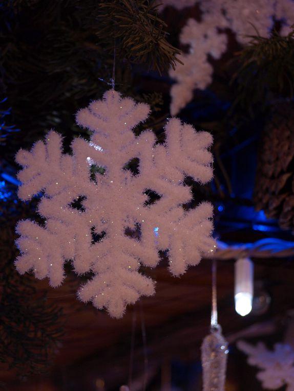 photos de la décoration de Noël à Ar Vag au Guilvinec