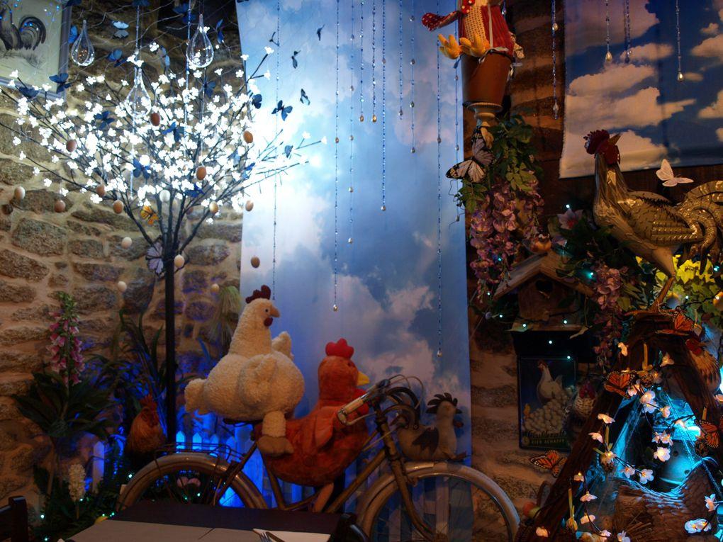 photos de la décoration de Pâques 2013 à la crêperie Ar Vag au guilvinec - Finistere - Bretagne