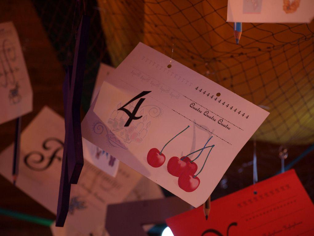 Photos de la décoration rentrée des classes 2011 à la crêperie Ar Vag