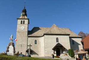 Les environs de Cluses en Haute Savoie