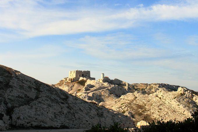 Découverte des Iles du Frioul (Bouches du Rhône) en Octobre 2010
